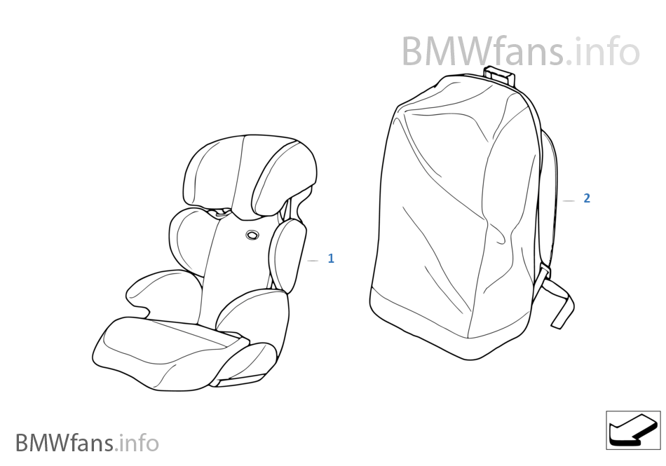 BMW Junior Seat II-III