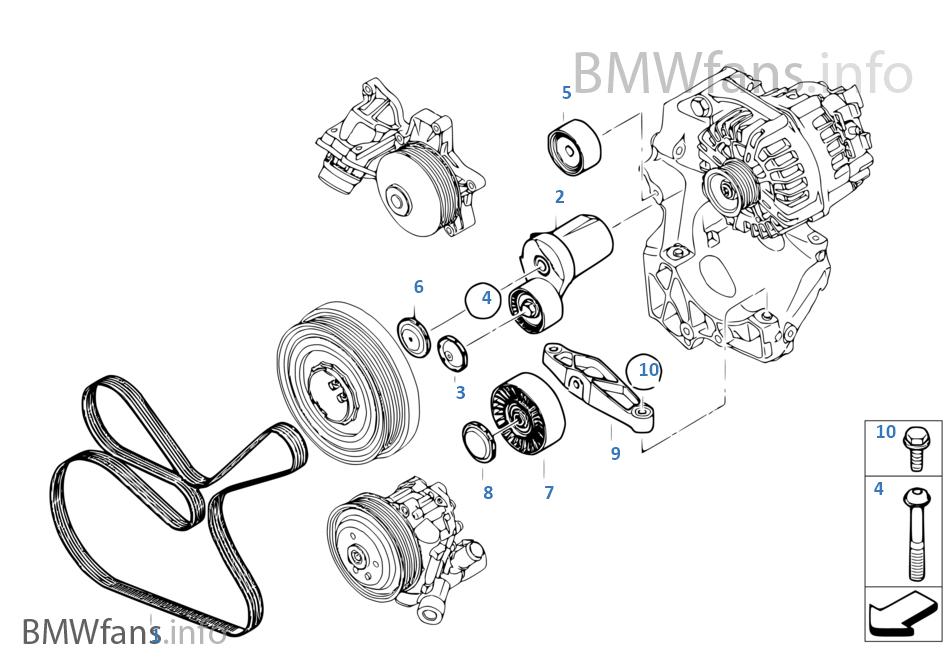 Belt Drive F Power Steering Pump
