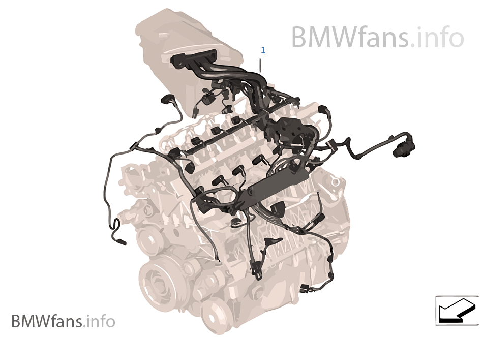 engine wiring harness bmw x5 e70 x5 3 0sd m57n2 europe rh bmwfans info bmw x5 wiring diagram pdf bmw x5 wiring