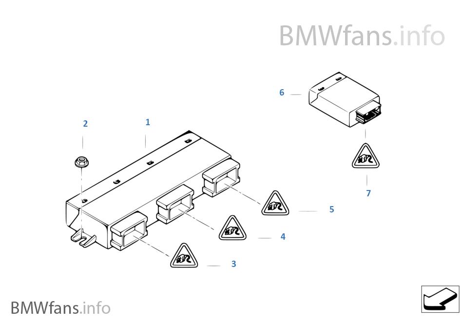 Control Units Modules Bmw X5 E70 X5 4 8i N62n Usa