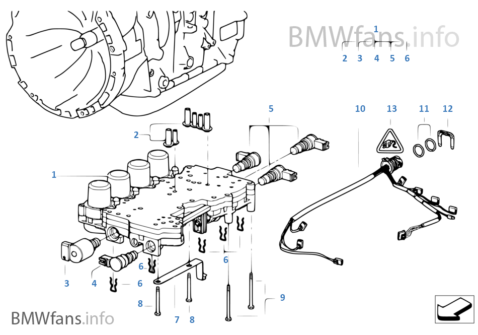 E46 330xi Transmission on Bmw 330i Fuse Box