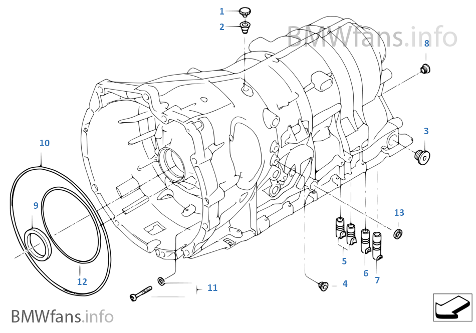 Bmw 740i Transmission Diagram