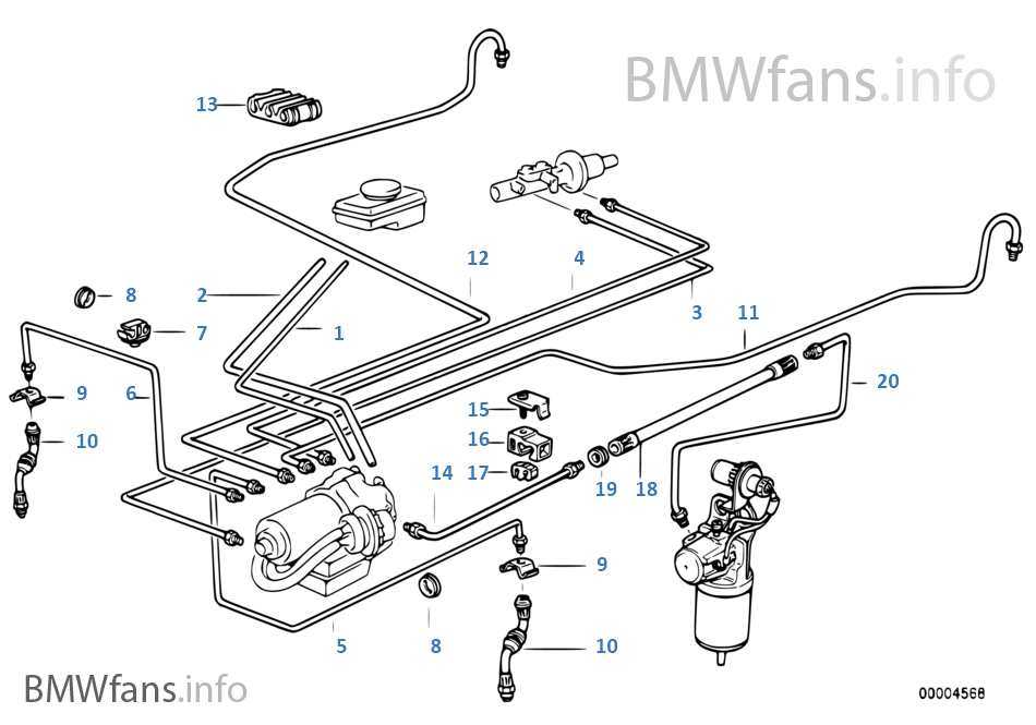 bmw e30 g box diagram