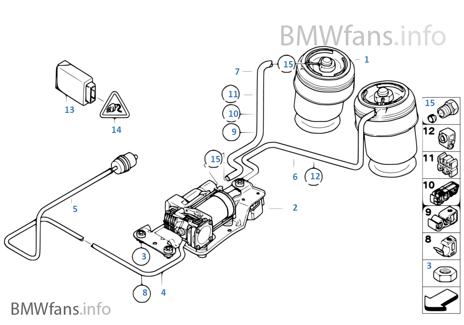Bmw X5 Suspension Diagram