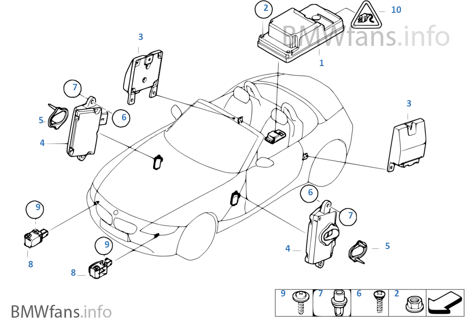 07 Z4 Airbag Diagram