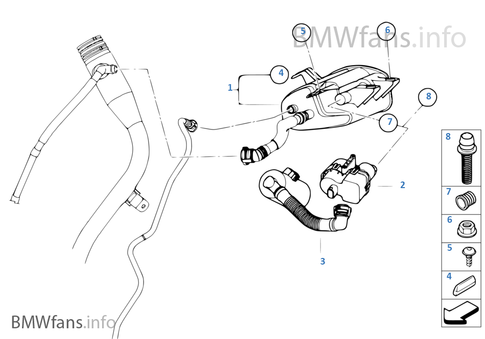 Mini Inline Fuel Filter