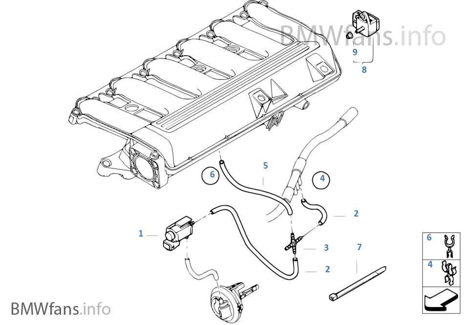 bmw parts diagram e60