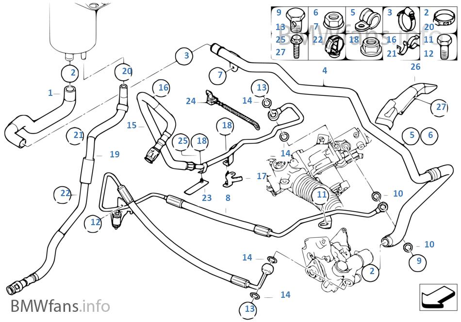 Power Steeringoil Pipeactive Steering