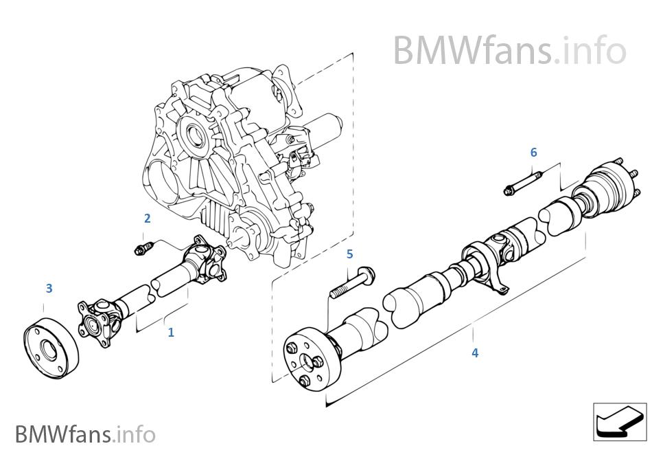 2005 bmw x5 parts catalog