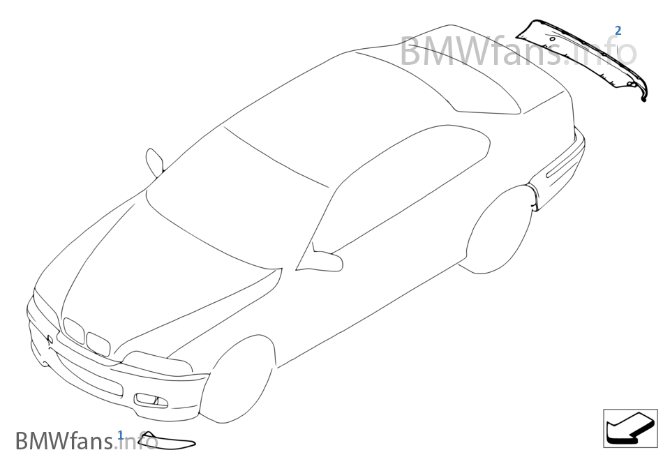 탄소섬유 패키지 E46