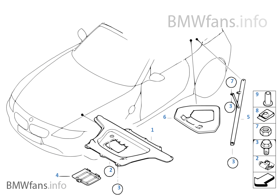 bmw z4 body parts catalog