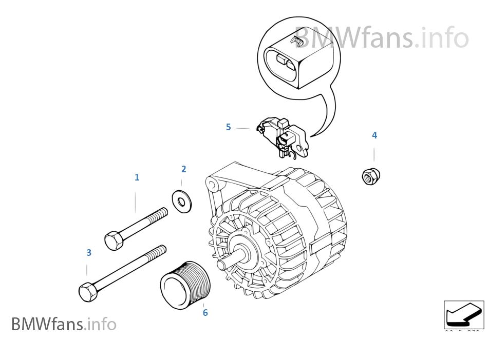 Alternator Individual Parts