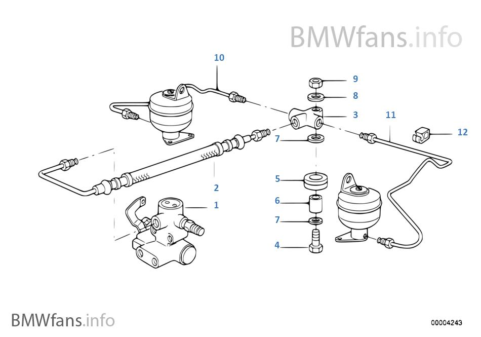05 bmw x5 rear suspension diagram