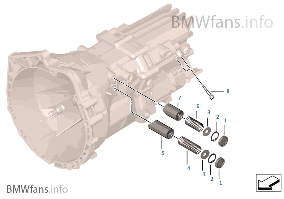 GS6-17BG Детали переключения