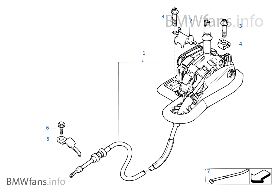 bmw 530xi transmission diagram