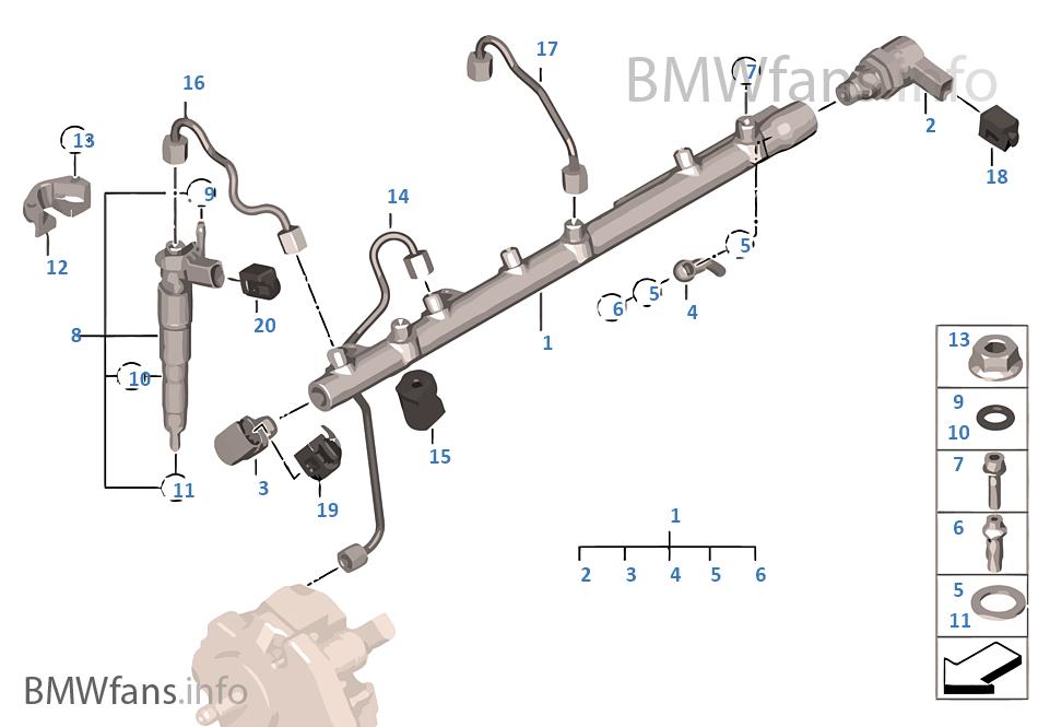 Συσσωρευτής υψηλής πίεσης/μπεκ/σωλήνας