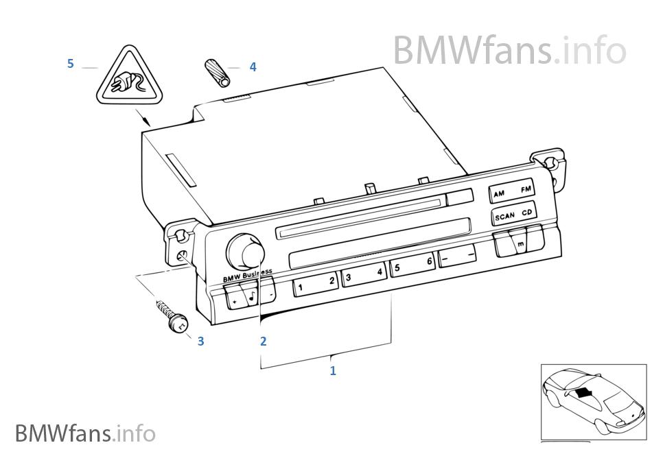 Radio BMW Business CD