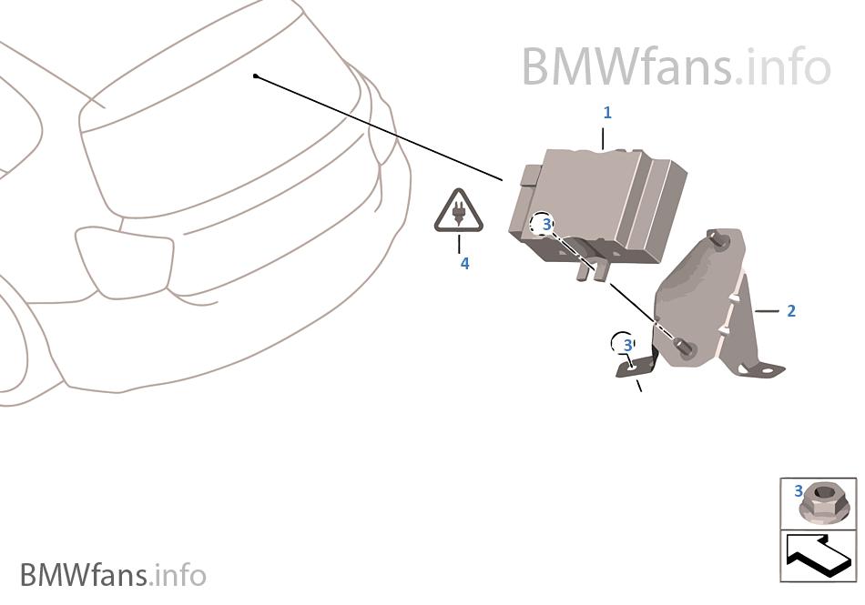 Control unit for fuel pump | BMW X5 E70 X5 3 5d M57N2 USA