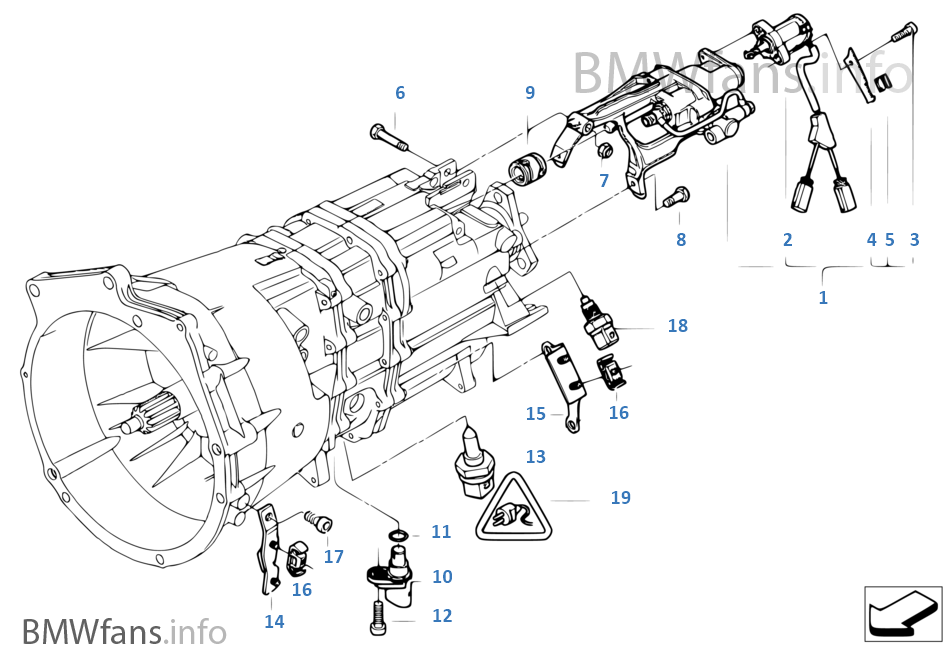 Bmw Transmission Diagrams
