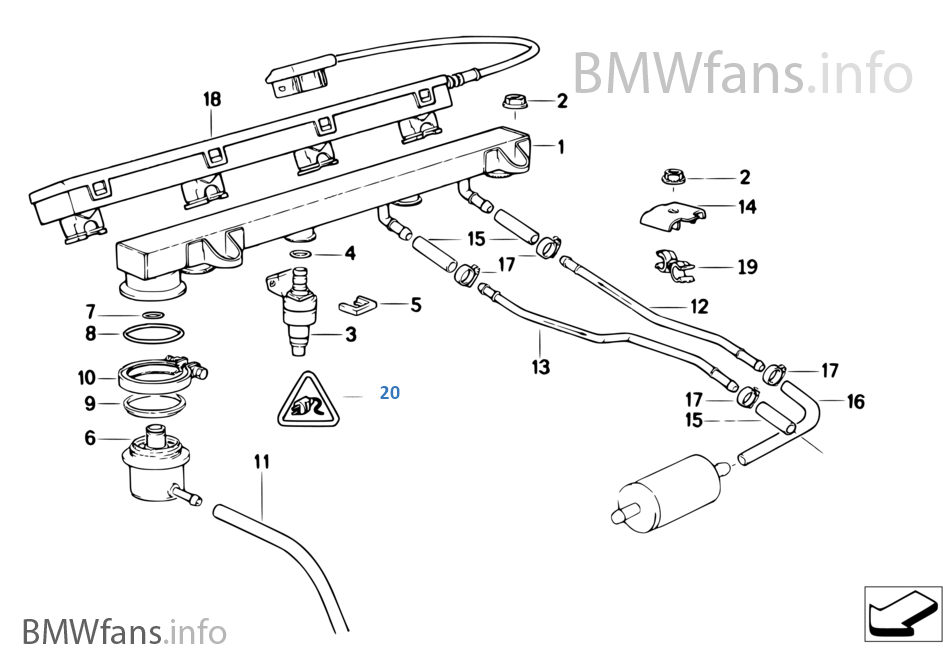Bmw E30 Fuel Pump Wiring Diagram : Bmw e fuel injection diagram imageresizertool