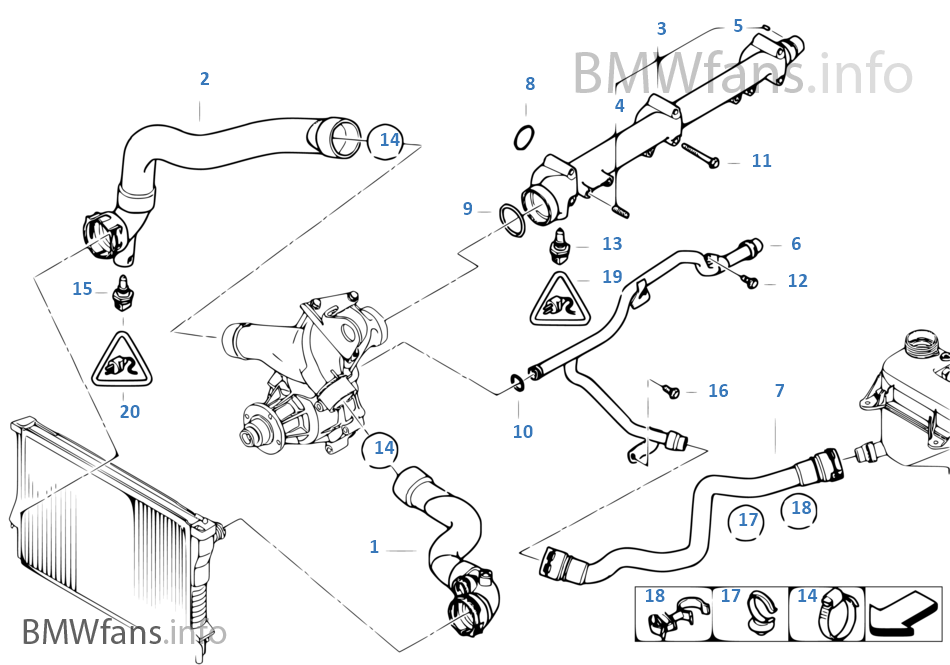 bmw z4 engine cooling system diagram  bmw  free engine
