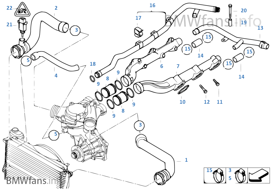 bmw e39 coolant system diagram
