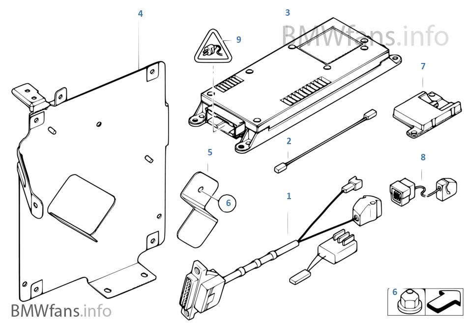 Single Parts Sa 630 Trunk