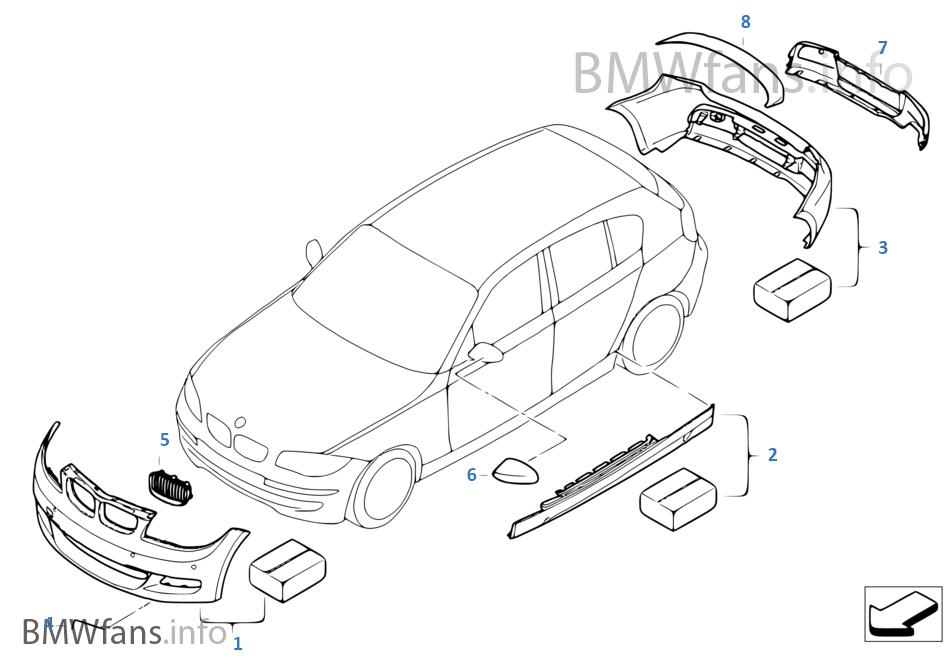 BMW パフォーマンス エアロダイナミクス