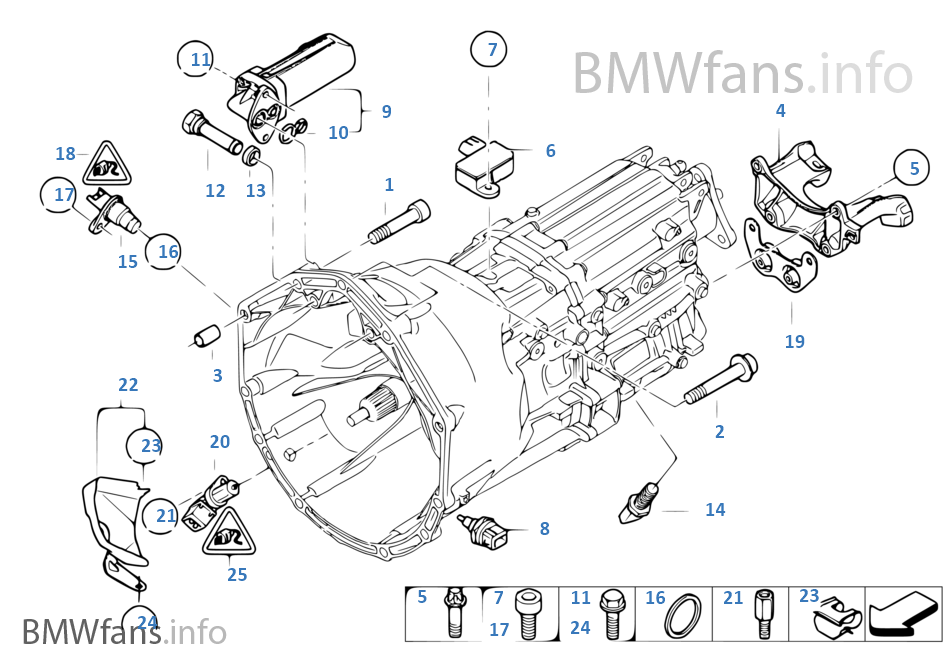 Gearbox Mounting Parts Bmw 3 E92 M3 S65 Europe