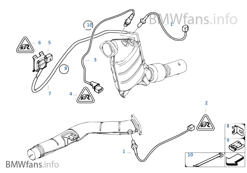 柴油微粒過濾器傳感器 / 安裝件