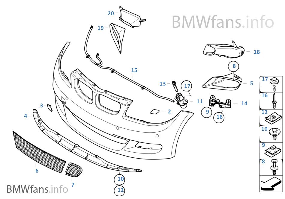 Аэродинамический к-т BMW Performance Пд