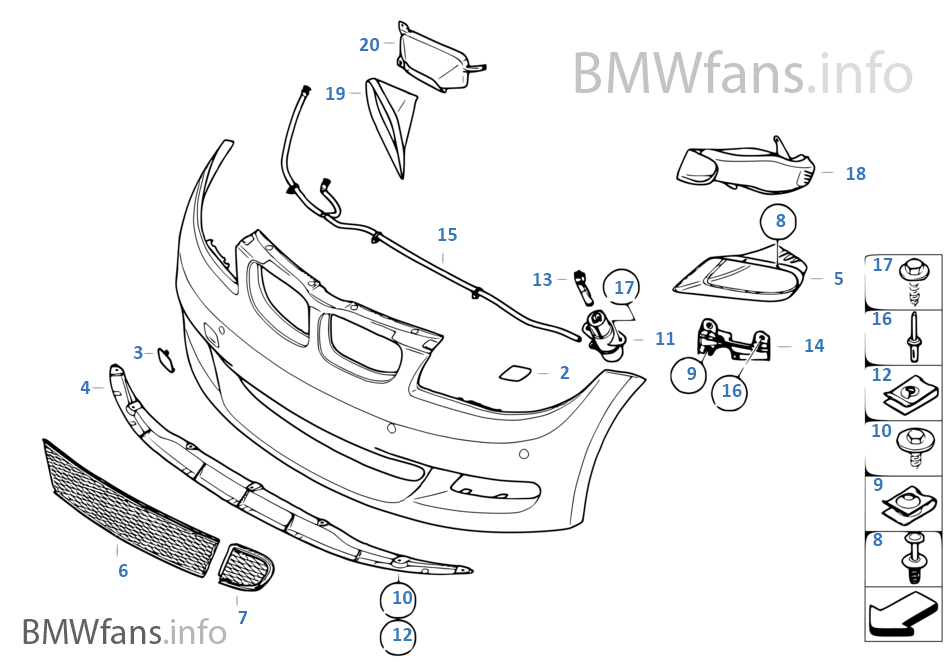 BMW Performance-aerodynamica voor