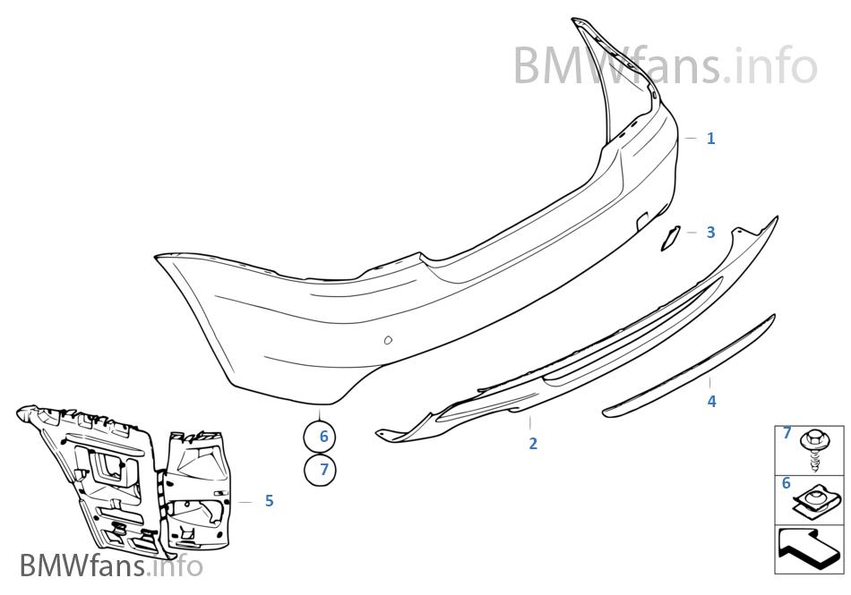 BMW Performance-aerodynamica achter