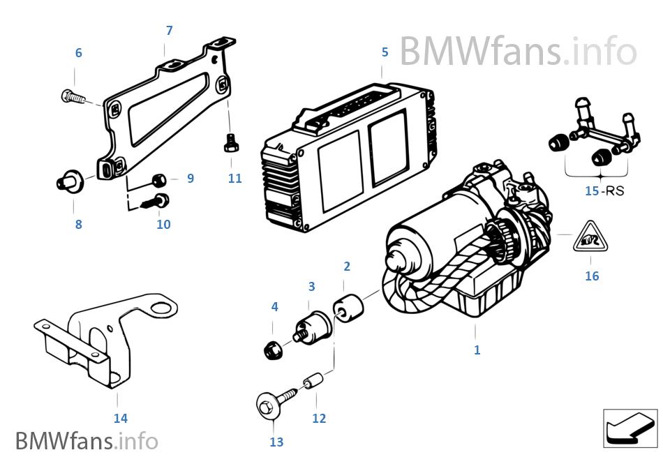 液壓機組 ABS / ASC / 控制單元 /支架