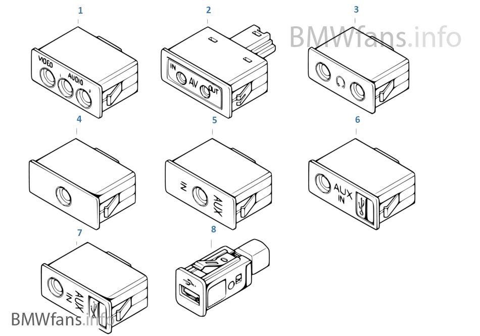 TV/Audio plug socket