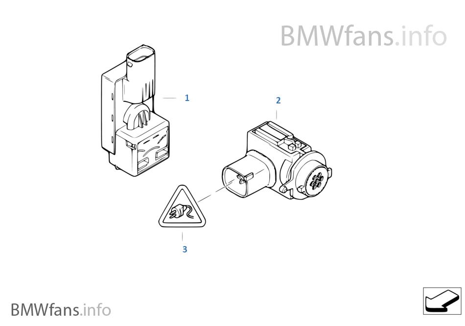Sensor f  auc | BMW 6' E63 645Ci N62 USA