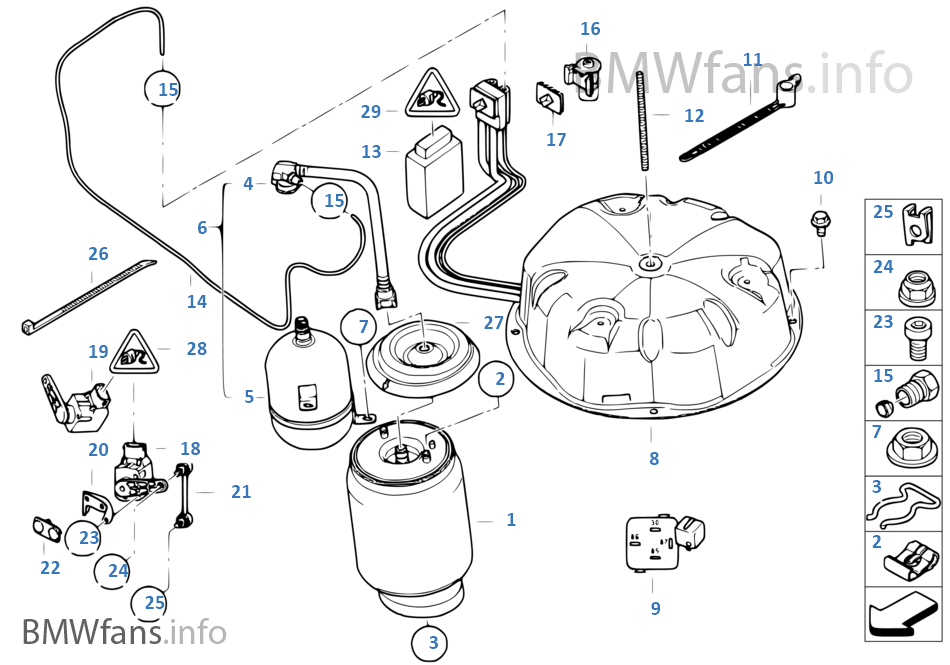 2002 bmw x5 parts diagram