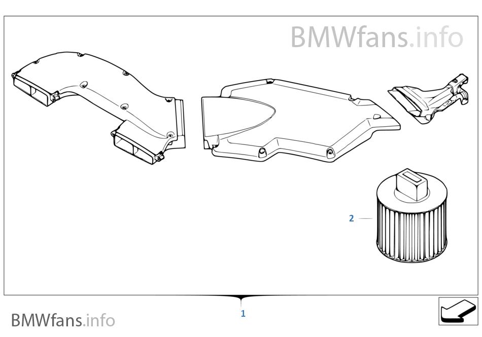 BMW Performance-luchtinlaatsysteem