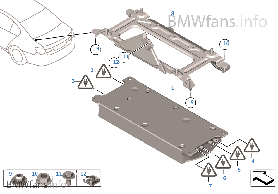 Combox telematics for GPS | BMW 7' F02 750Li N63 USA