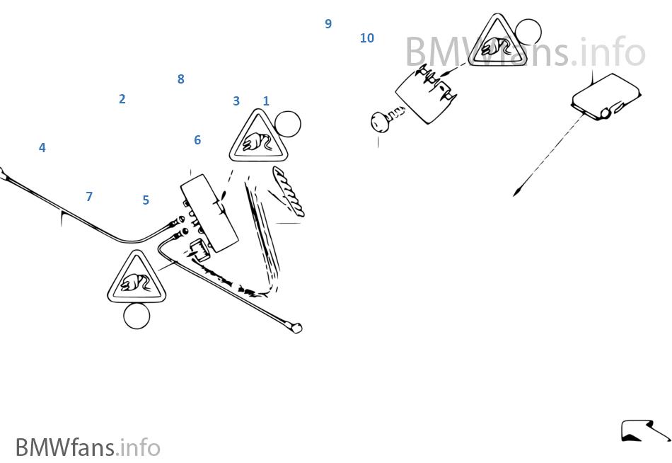 Pezzi singoli antenna-diversity