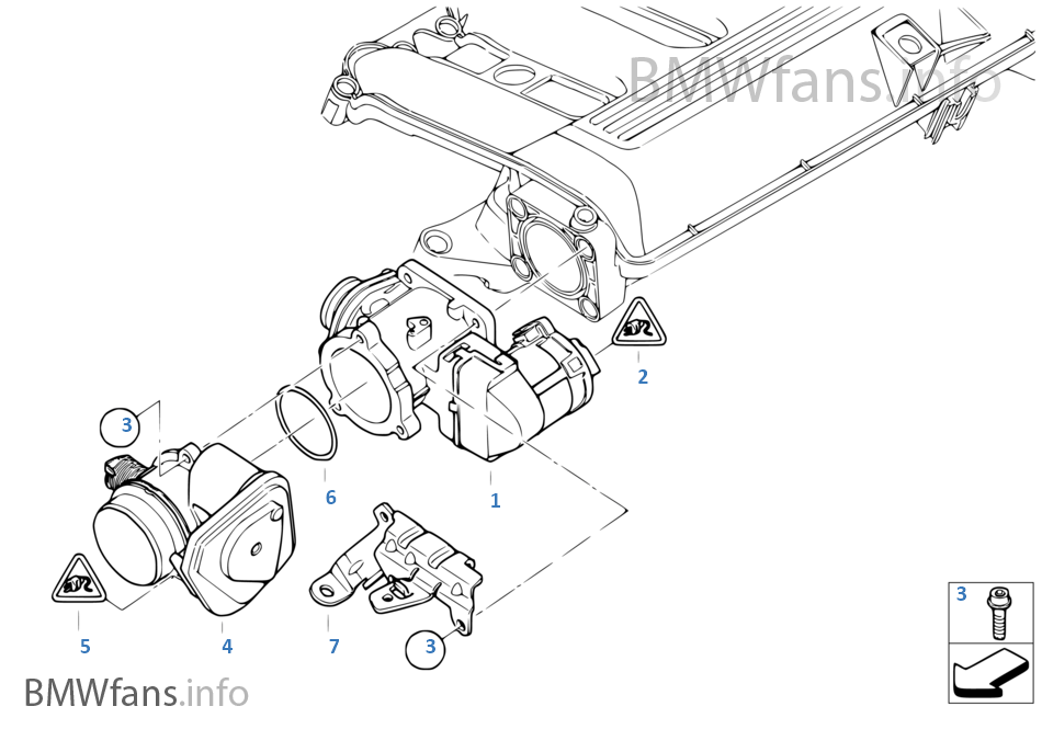 EGR — with electric control | BMW 3' E90 LCI 335d M57N2 USABMWfans.info
