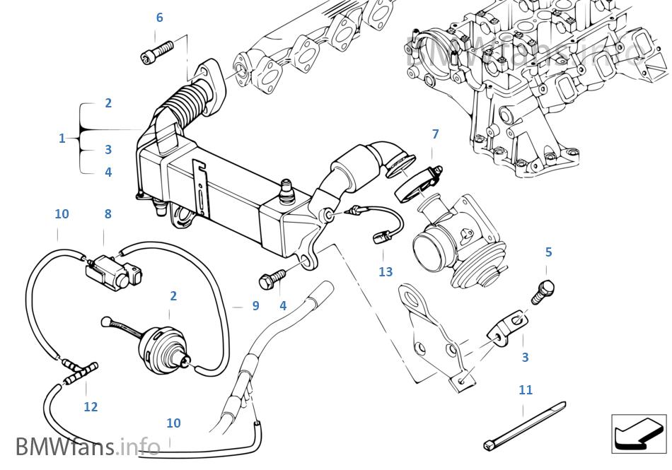 Pollutant reduction cooling | BMW 3' E90 LCI 335d M57N2 USABMWfans.info