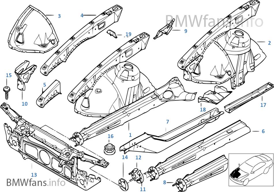 휠 하우스/엔진 서포트