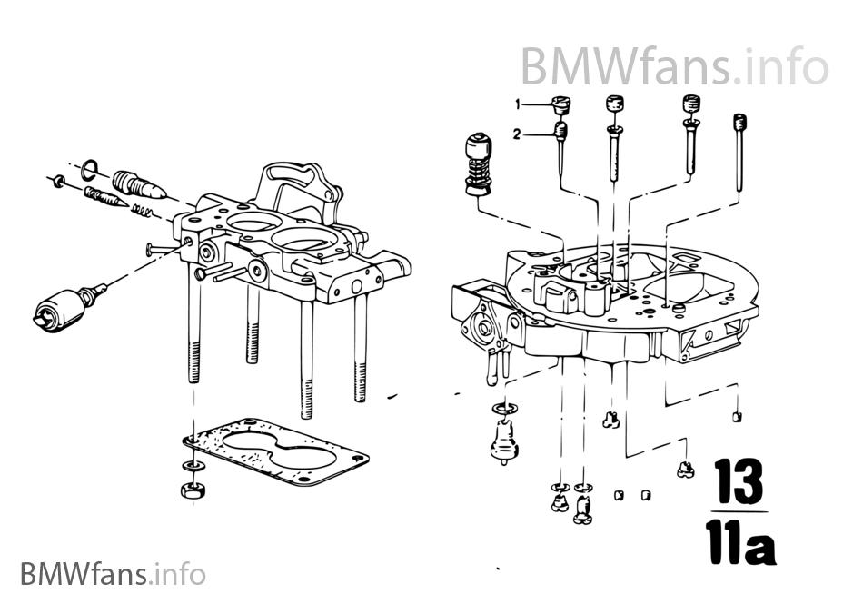 Carburador, toberas y bomba