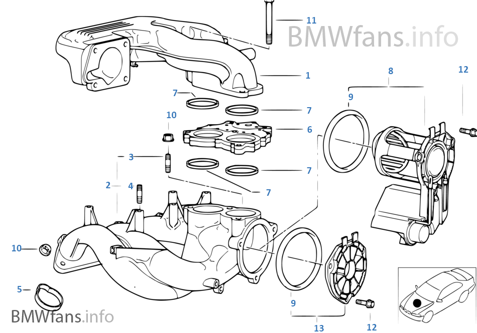 Intake_manifold_system on Bmw Engine Parts Diagram