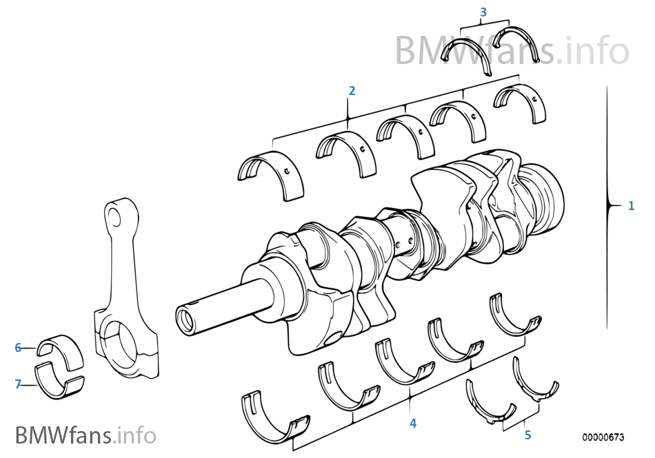 Mecanismo movimento cambota c/bronzes