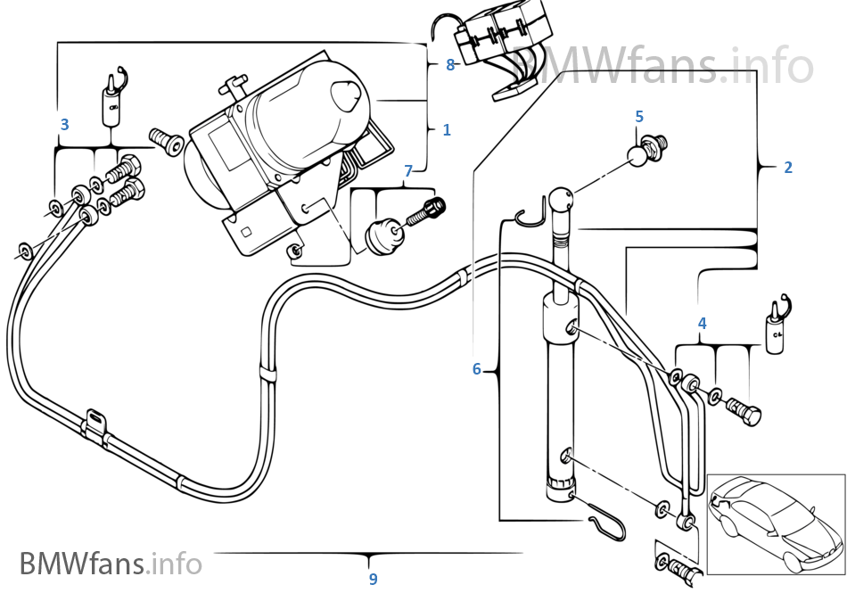 belt diagram 1998 bmw m3