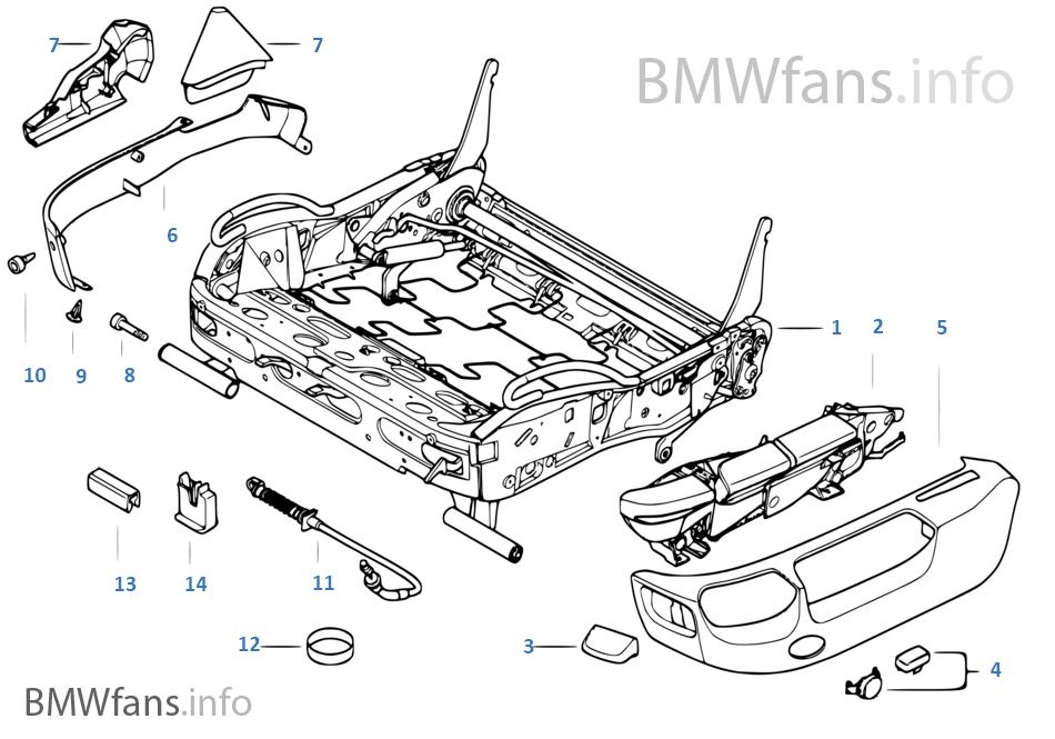 BMW 스포츠 시트,시트 프레임,기계식