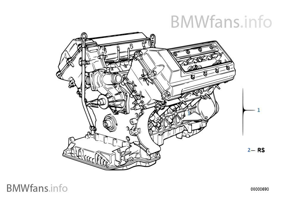 Short Engine | BMW 7' E38 740i M62 USABMWfans.info