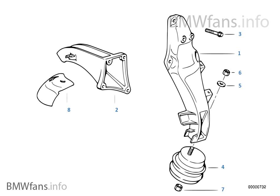 Motor askısı/Motor titreşim damperi